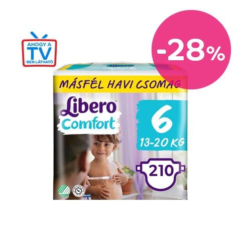 Készletkisöprés - Libero Comfort másfél havi pelenkacsomagok
