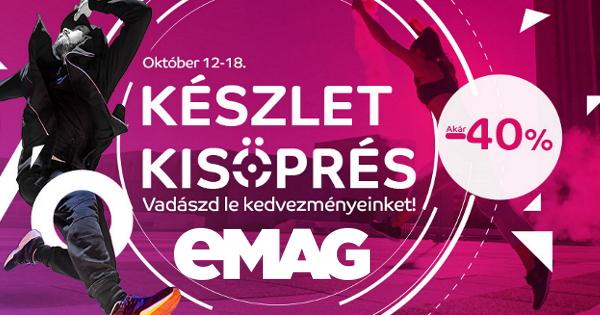Készletkisöprés - eMag.hu