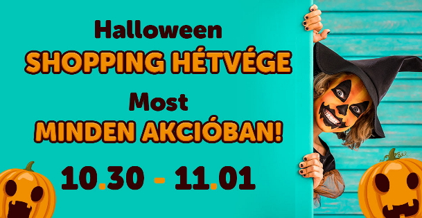 Halloween Shopping - JátékNet.hu